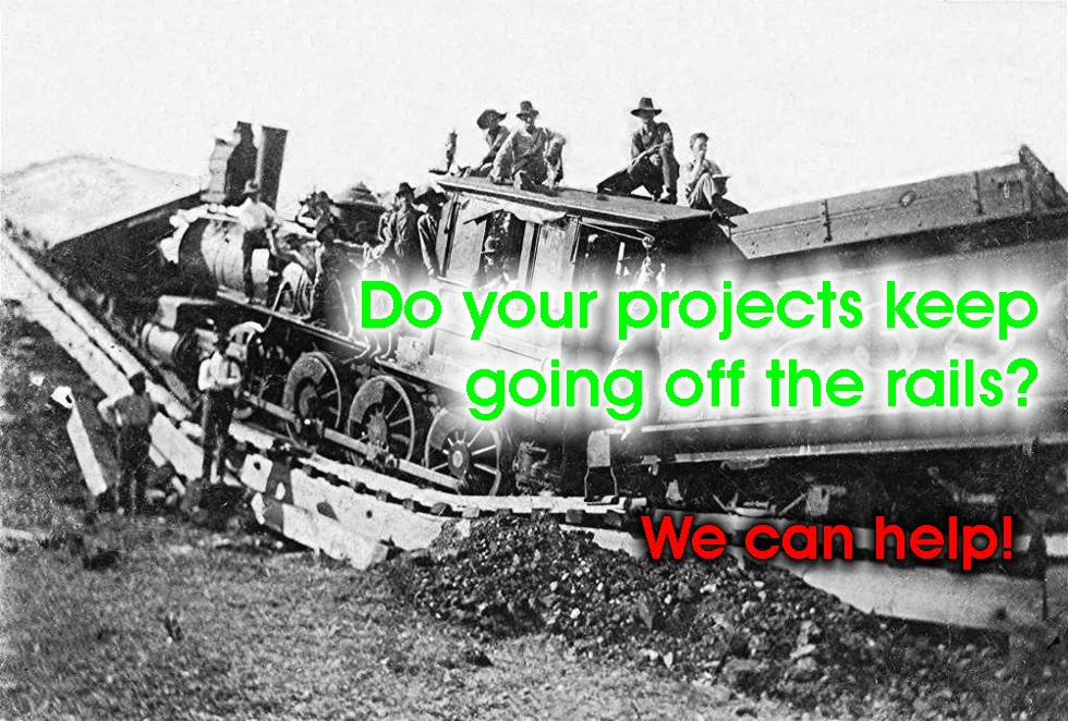project management keeps your projects on the rails